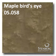 Maple bird's eye 05.058