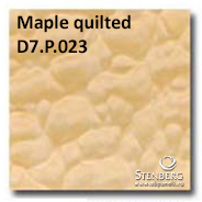 Maple quilted D7.P.023