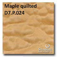 Maple quilted D7.P.024