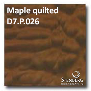 Maple quilted D7.P.026