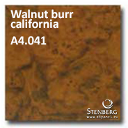 Walnut burr california A4.041