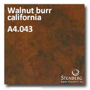 Walnut burr california A4.043